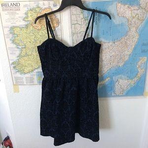 NWT forever 21 navy blue/black dress
